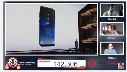 Premiera Samsunga Galaxy S8 - Live Videotesty 15