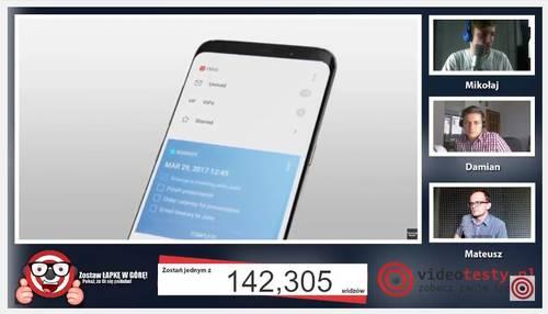 Premiera Samsunga Galaxy S8 - Live Videotesty 16