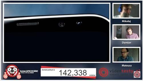 Premiera Samsunga Galaxy S8 - Live Videotesty 26