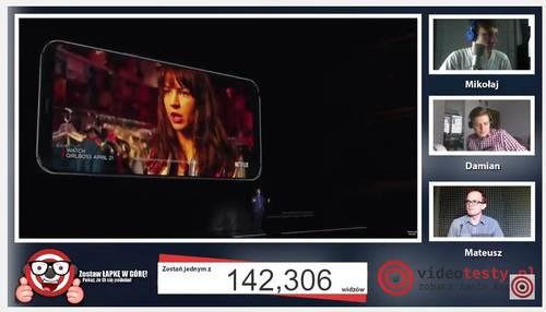 Premiera Samsunga Galaxy S8 - Live Videotesty 30