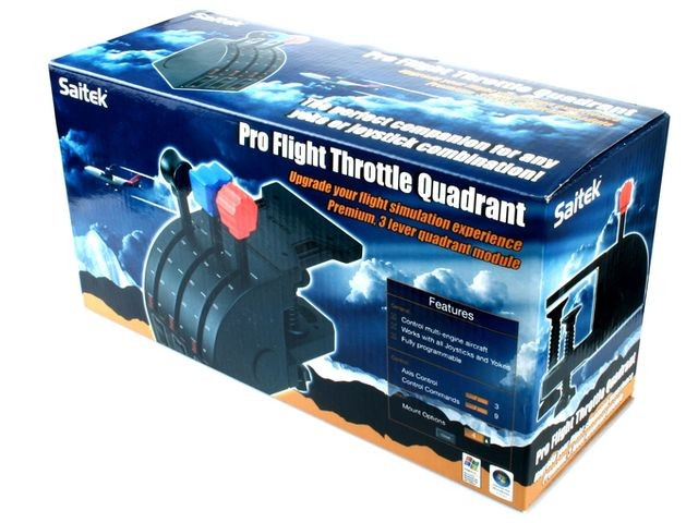 Saitek Pro Flight Throttle Quadrant