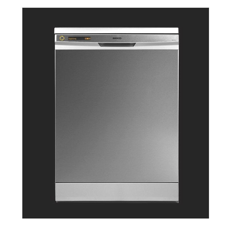 BEKO DDN 1000X (60 cm, panel zintegrowany, pełne drzwi ze stali nierdzewnej)
