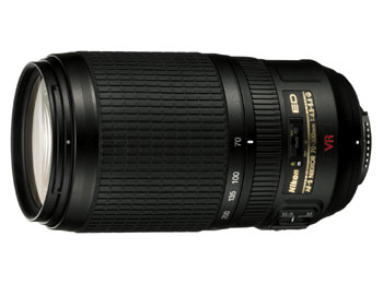 Nikon AF-S 70-300 f/4.5-5.6 G VR IF-ED