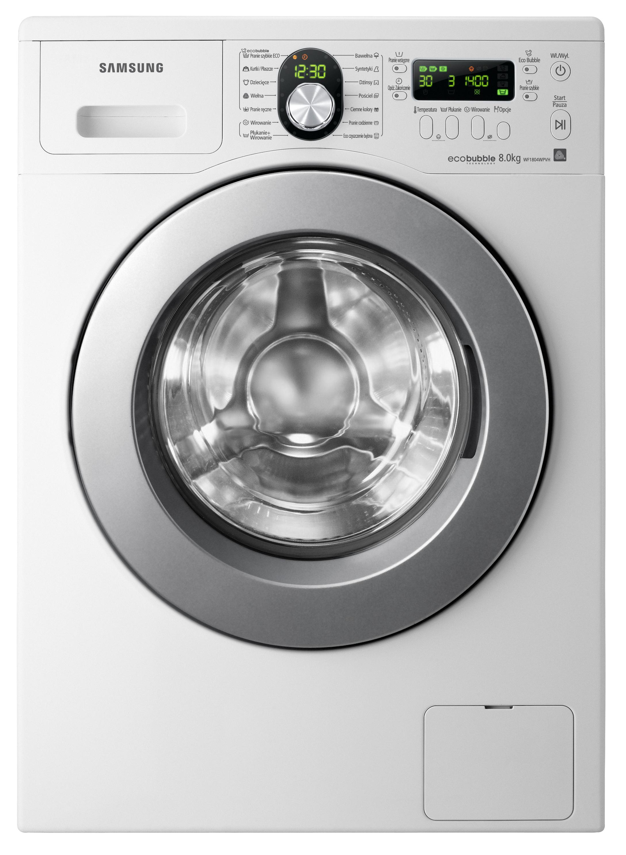 Samsung WF1804WPVH Eco Bubble