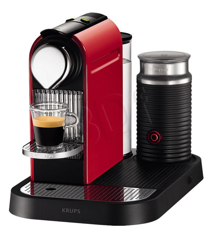 NESPRESSO XN7106 CITIZ Milk (czerwono czarny)