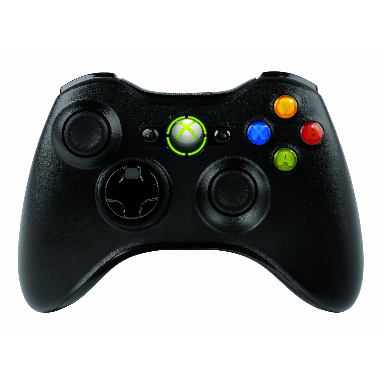 Microsoft Xbox 360 Wireless Controller - Black