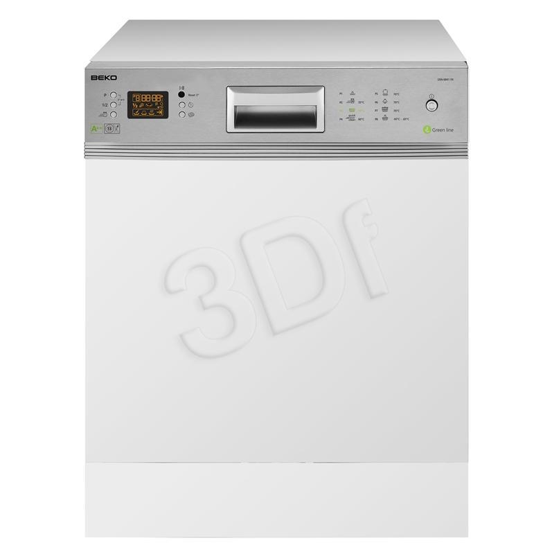 BEKO DSN 6841 FX (szer.60cm / panel otwarty)