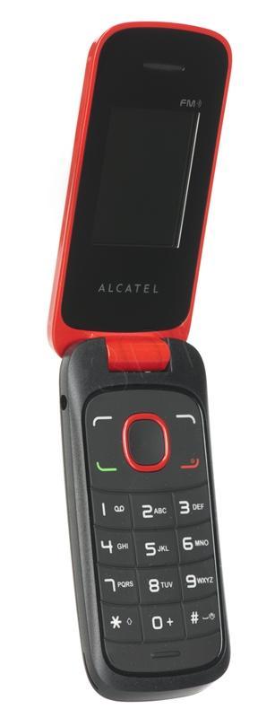 U1405 Telefon Alcatel 1030x Czerwony