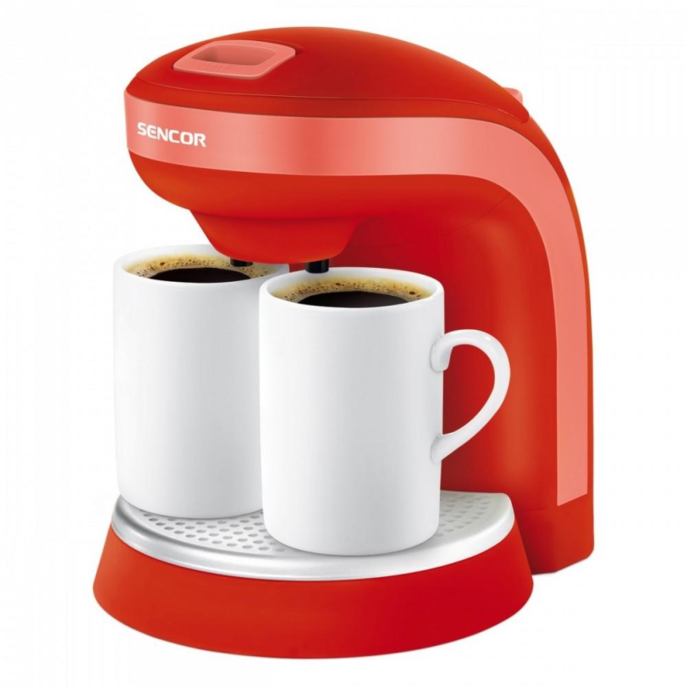 SENCOR SCE 2003RD do kawy/herbaty, kubki porcelanowe Gratis