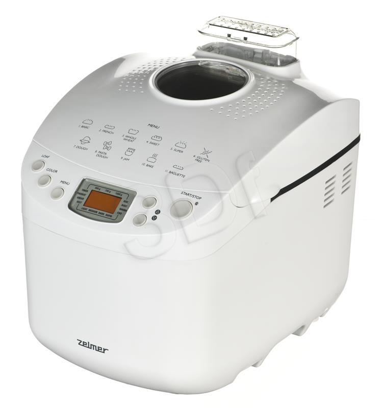 Wypiekacz do chleba Zelmer BM1000 ( 1000g 650W Biały)