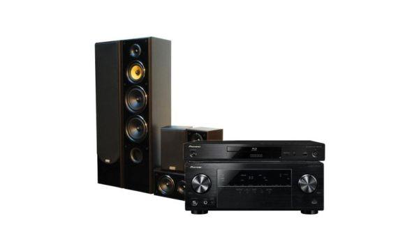 Yamaha HTR 2067 + Prism Audio Falcon HT-500