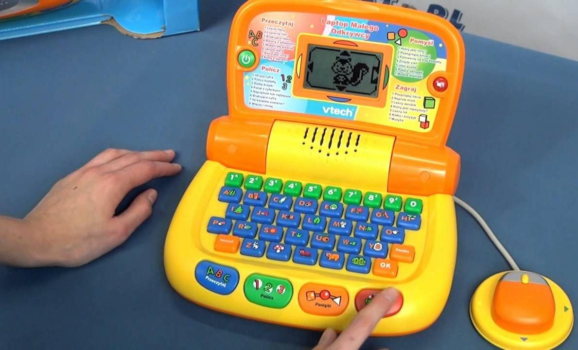 VTECH Laptop Małego Odkrywcy