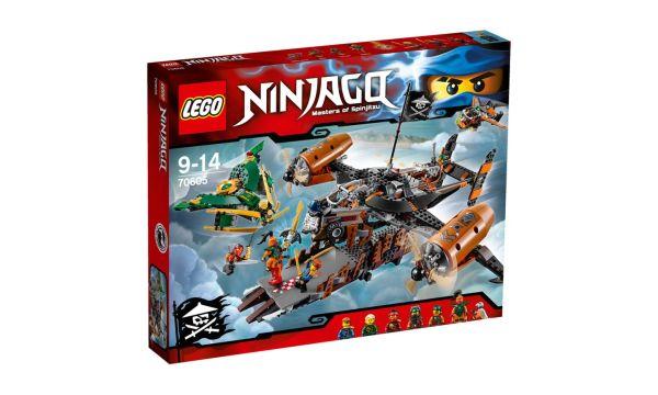 LEGO Ninjago Twierdza Nieszczescia 70605