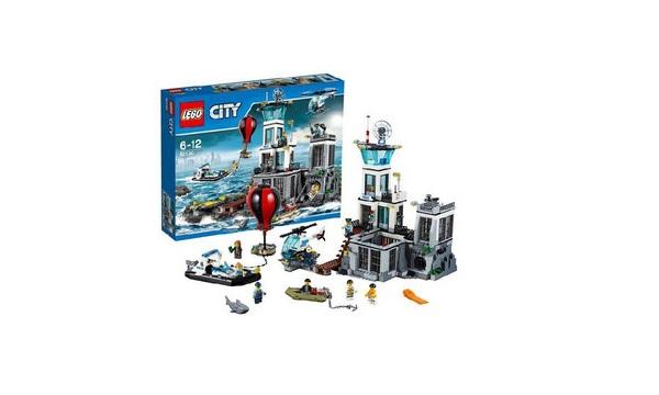LEGO City Wiezienna Wyspa (60130)