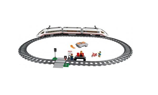 LEGO City Superszybki Pociag Pasazerski 60051