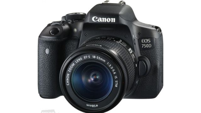 Canon EOS 750D Czarny + 18-55mm