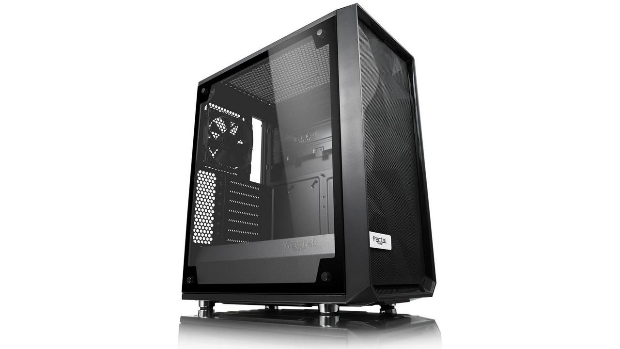 Fractal Design Meshify C Blackout TG