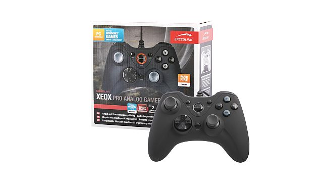 SpeedLink XEOX Pro Analog Gamepad Wireless