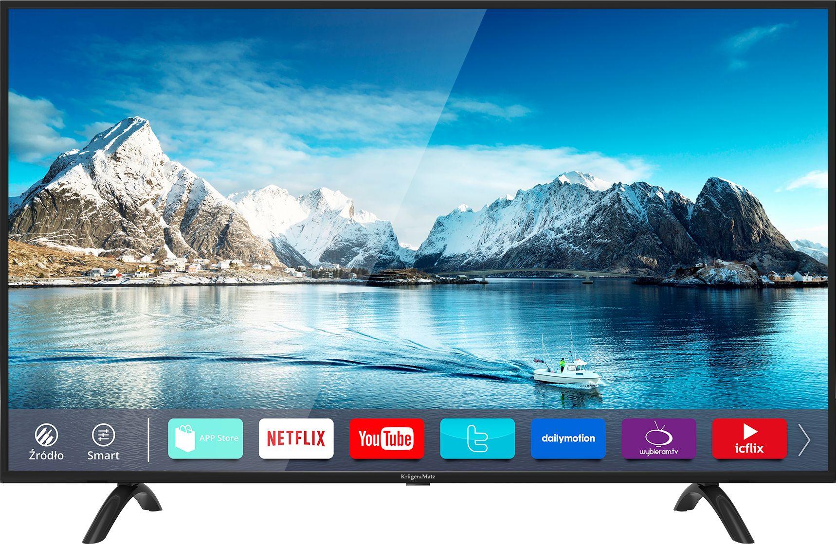 Kruger&Matz 55 KM0255UHD-S3 4K, Smart TV, NETFLIX
