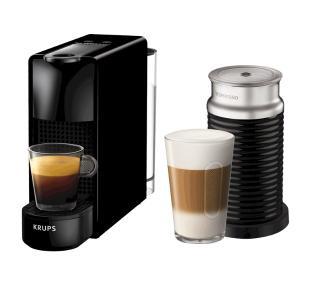 Krups Nespresso Essenza Mini & Aeroccino XN1118 (czarny)
