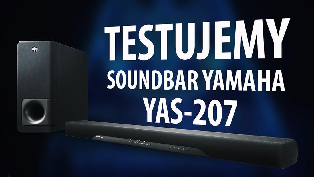 test yamaha yas 207 markowy soundbar za przyst pne. Black Bedroom Furniture Sets. Home Design Ideas